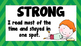 Stamina Reading Poster and Reading Stamina Thermometer