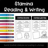 Stamina Reading & Writing Posters