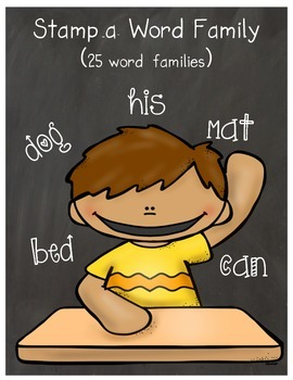 Stamp-A-Word Family