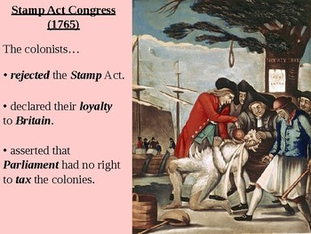 Stamp Act Crisis PowerPoint Presentation