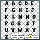 Stamp Alphabet Value Pack {Neutrals}