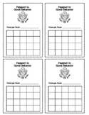 Stamp Card: Passport to Good Behavior