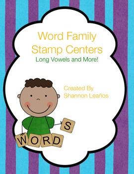 Stamp Center: Long Vowels & More!