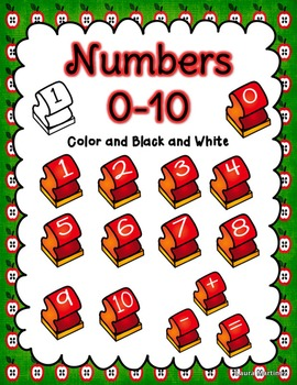 Stamp Clipart: Letters and Numbers