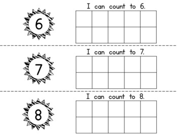Stamp & Count Book 1-10 {FREEBIE}