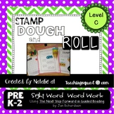 Stamp, Dough & Roll Sight Word - Word Work Level C