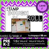 Stamp, Dough & Roll Sight Word - Word Work Level F