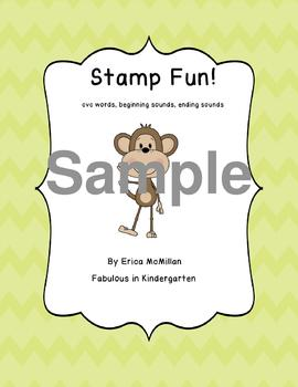Stamp Fun with CVC Words!