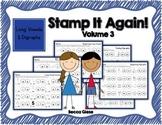 Stamp It 3 {Long Vowels & Digraphs}