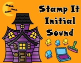 Stamp It:  Halloween Beginning Sounds