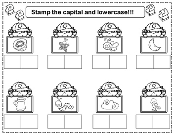 Stamp It: Initial Sound Stamping Fun for Kindergarten