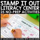 Stamp It Out Literacy Center- 25 Stamping Centers