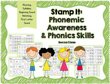 Stamp It {Phonemic Awareness & Phonics Skills}