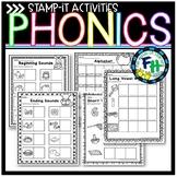 Stamp It Phonics Activities