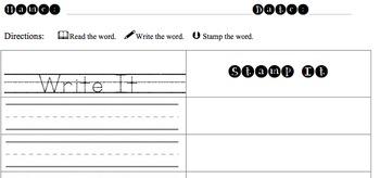 Stamp It Write It Printable
