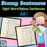 Stamp Sentences Set 1