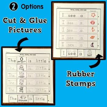 Stamp Sentences Set 1