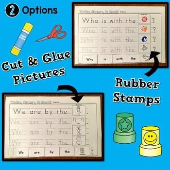 Stamp Sentences Set 2