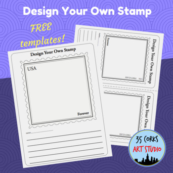 Stamp Template - Create Your Own USA Forever Stamp