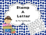 """ABC Letter Stamping """"Daub"""" a Letter {A-Z Uppercase Letters}"""