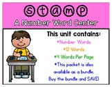 Stamp-a-Sight Word Center - Number Words