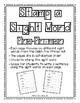 Stamp a Sight Word Dolch Pre-Primer Worksheets