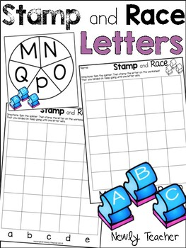 Stamp and Race: Letters