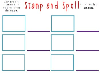 Stamp and Spell