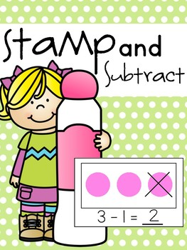 Stamp and Subtract Booklet