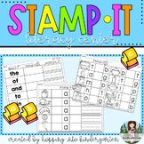 Stamp it - Kindergarten Literacy Center Printables