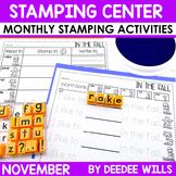 Stamping Center! November