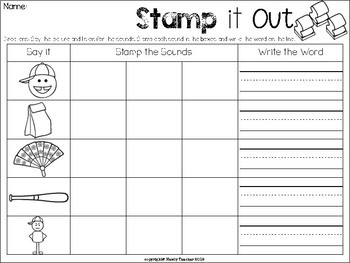 Stamp it Out: CVC Words