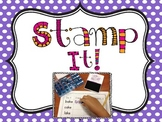 Stamp it! {Sight words and Word Families}