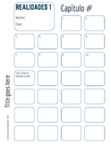 """Stamp sheet template """"I can"""" statements"""