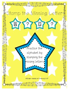 Stamp the Missing Letter