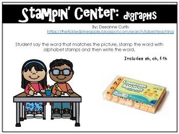 Stampin' Digraphs