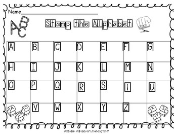 Stamping ABC to abc