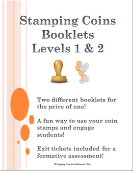 Stamping Coins Booklets - Level 1 & Level 2