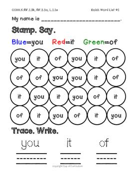 Stamping Fun!
