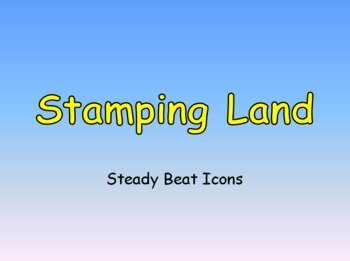 Stamping Land Steady Beat Icons