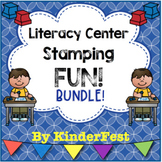 Stamping Literacy Centers BUNDLE!