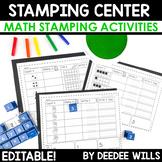 Stamping Center Math Fun-editable