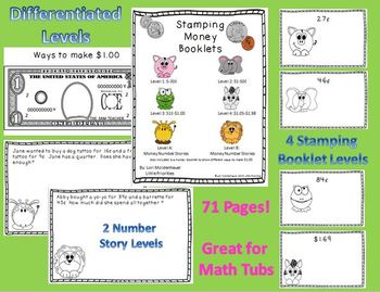 Stamping Money Booklets