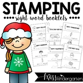 Sight Word Practice Stamping Booklets {holiday books}