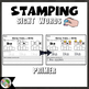 Primer Sight Word Stamping  High Frequency Words