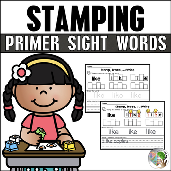 Dolch Sight Words Stamping (Primer List)