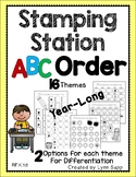 Stamping Station - ABC Order