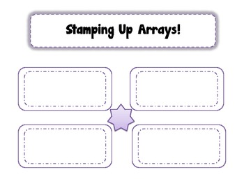 Stamping Up Arrays! CCSS 2.0A.4