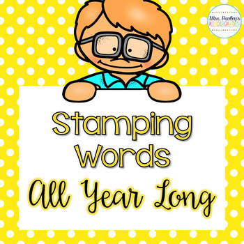 Stamping Words Activities {All Year Long}
