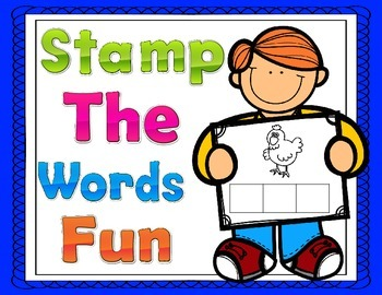 Stamping Words Fun:  Print and Go 96 CVC Words